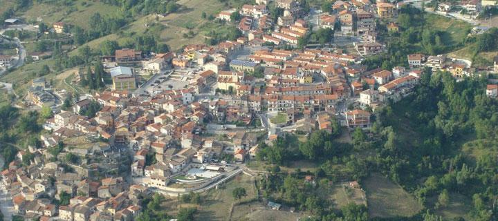 Panorama Castellafiume