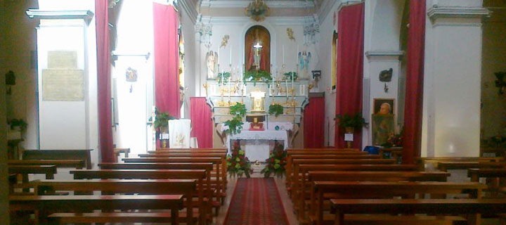 Interno Chiesa San Nicola di Bari